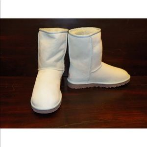 NEW Womens UGG Classic Short Baby Blue Winter Boot
